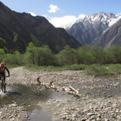Mountain Biking in Minya Konka SiChuan
